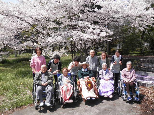 2012/4/24 お花見 治田公園 整列写真 1094
